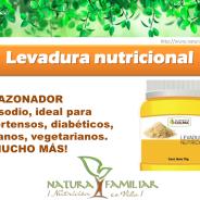 Levadura Nutricional, prepara tus mejores recetas.