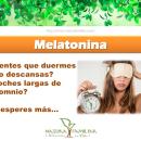Mejora la calidad de tu descanso… Melatonina