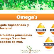 ¿Para qué Sirve el Omega 3, 6 y 9?