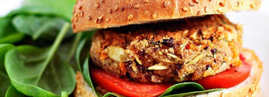 Mmm… Deliciosas hamburguesas de soya